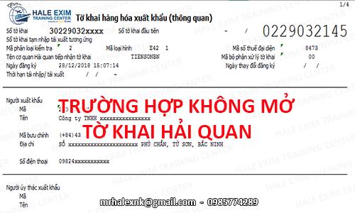 cac-truong-hop-khong-phai-mo-to-khai-hai-quan